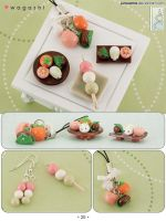 Gneeworks Clay Catalog: Wagashi by junosama