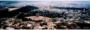 view from Acropolis by PsyKingdom