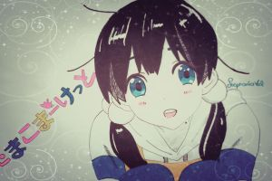 colored  Tamako Market by stephaniaVal