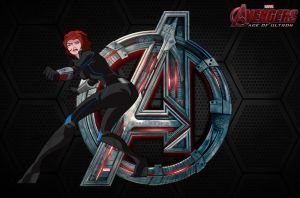 AOU- Black Widow (EMH) by MAD-54