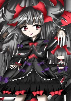 Antoinette Marionette - Gothic Lolita by Yitsune-Melody