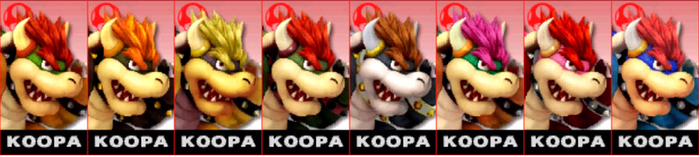 SSB4: Koopa Comtuse (player) by TheZeldaFan22