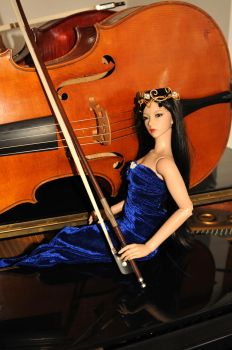 So Myung, fairy of Music by Acucello