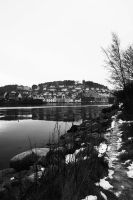 Farsund: On the water by bluetogray