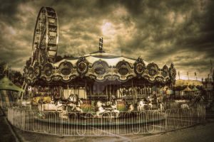 Silent Carousel by ImagesByAndrew