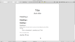 LibreOffice Writer by JLee182