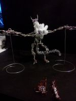 Wrath of the Chimera - front view, wings unfolded by pepele