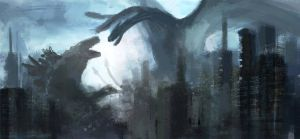 King of monsters by artofrussell