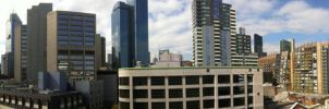 Spencer Street panorama, Melbourne by dpt56
