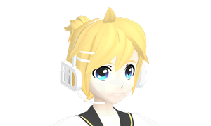 Len is such a cutie! by MMD-MCL