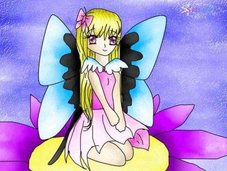 Butterfly Fairy by SnowDomain