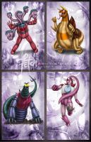 Mazinger Z_cards SERIES G by FranciscoETCHART