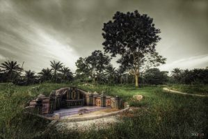 hdr - chinese cemetery by mayonzz