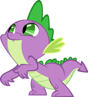 Spike's Secret by AlmostFictional