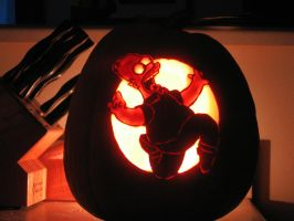 Homer Simpson - 2008 by SmithPumpkinCarver