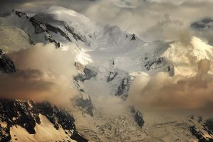 Mont-Blanc by alexandre-deschaumes