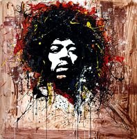 JIMMY HENDRIX by Murciano