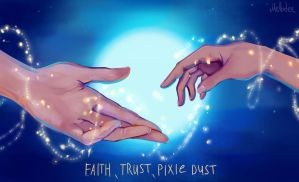 Faith, trust and pixie dust by Mellodee