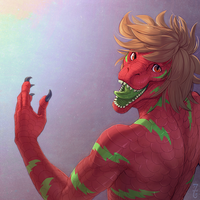 Bust Commission - Ravetar by Zyraxus