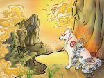 Okami by Paranoid-Duckkie