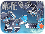 Magpie Ref | December 2016 by ChaiFoxi