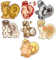 || Seven Deadly Cins || ONE ADOPT || by cinnabutt
