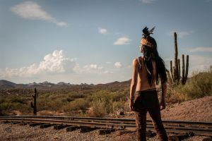 When the wild was laid in Iron - The Lone Ranger by TheSinisterLove