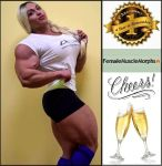 Happy Anniversary to Female Muscle Morphs Group! by Turbo99