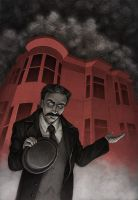 H. H. Holmes by MadLittleClown