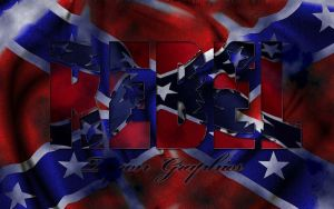 Rebel flag texture by mademyown