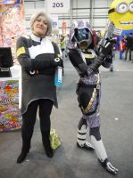 Two lovely Mass Effect ladies MCM May '13 by KaniKaniza