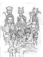 Fairy Tail Family by mikzz19