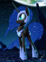 Nightmare Moon by ZiG-WORD
