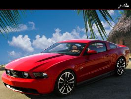 Ford Mustang 2010 by Goomidesign