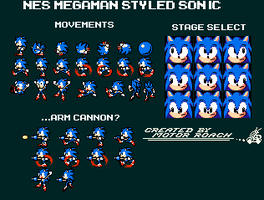 Sonic in Mega Man? by MotorRoach