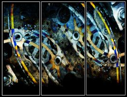 Triptych mechanical by kanes