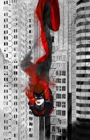 Batwoman Ink Fall by skyscraper48