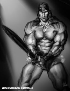 CONAN THE BARBARIAN by Frayna77