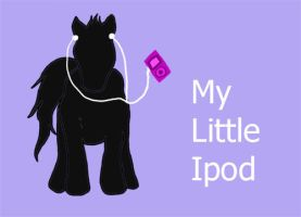 My little Ipod by Kateskywalker