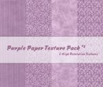 Purple Paper Texture Pack2 by powerpuffjazz