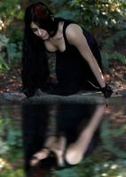 *Gothic lady. by skindawg