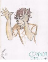 connor sketch by huntress-for-life