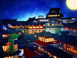 A Night Out In Chunan by KonKonna