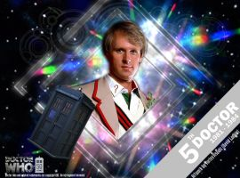 Doctor Who 50th Anniversary - The 5th Doctor by VortexVisuals