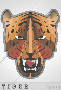 Tiger - Illustration by IMTFX