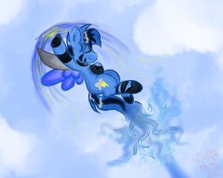 Bluefire being adorable. by flowercrxwn