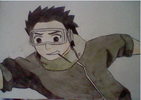 Young Obito Running by inspired118