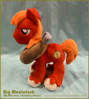 Big Macintosh Plush IV by Wolflessnight