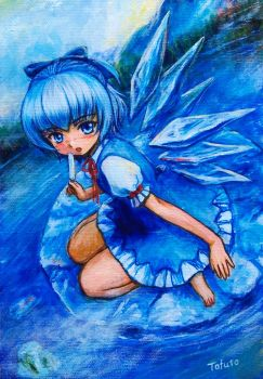 Ice_Cirno by tafuto001