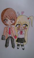 Request: Misa and Light by LissieDollx3